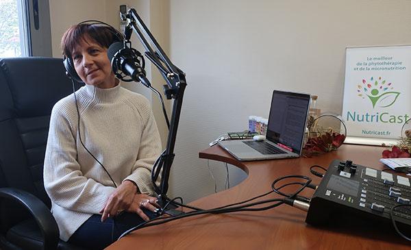 Véronique de Azevedo parle de nutricosmétique sur Nutricast