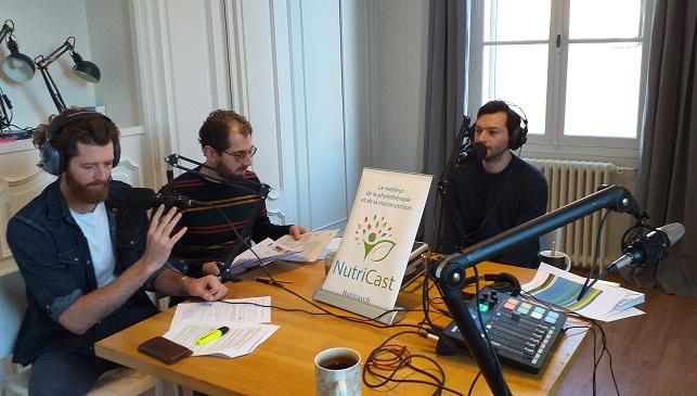 Edouard Fornas, Jean-Baptiste Gouraud et Yazan El Safadi sur Nutricast