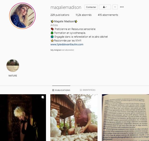 Magalie Madison instagram
